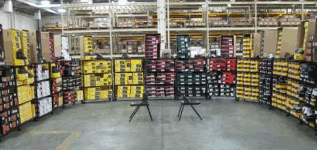 Safety Boot Truck Inside Set up